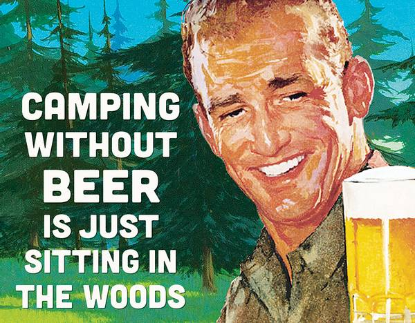 Bilde av Camping without Beer
