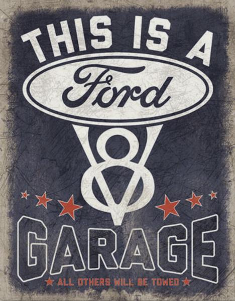 Bilde av This is a Ford V8 Garage