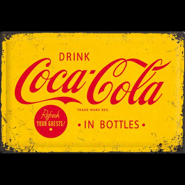 Bilde av Coca-Cola Yellow Logo A2