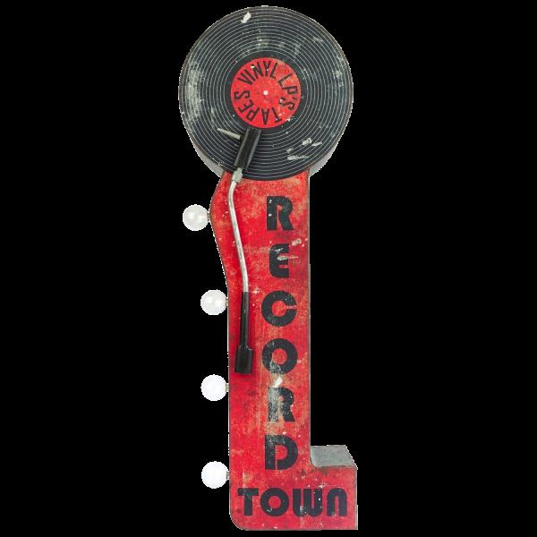 Bilde av Record Town LED OTW Skilt