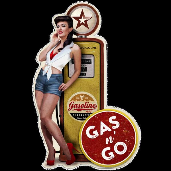 Bilde av Gas'n Go Pinup
