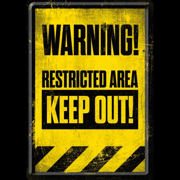 Bilde av Restricted Area Keep Out