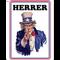 Uncle Sam Skilt Herrer A5