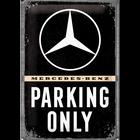 Mercedes-Benz Parking Only