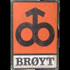 Brøyt Logo Vintage A4