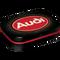 Audi Logo Red Shine