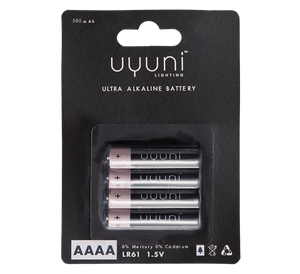Bilde av Uyuni batterier AAAA 4-pk