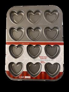 Bilde av Stekeform kjeks hjerter