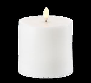 Bilde av Uyuni kubbelys 10x10cm hvit