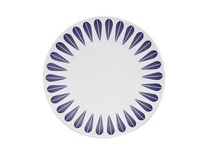 Bilde av Lotus Blue tallerken 28cm