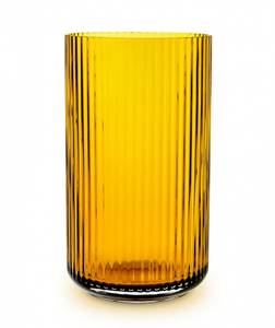 Bilde av Lyngby vase amber 25cm