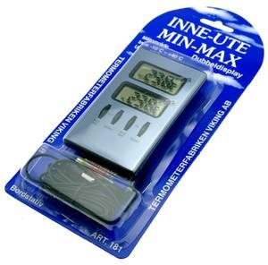 Bilde av Digitalt inne-ute termometer