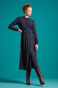 Bilde av King Louie Midi kjole Rosie Pablo, Blå m/rosa prikker