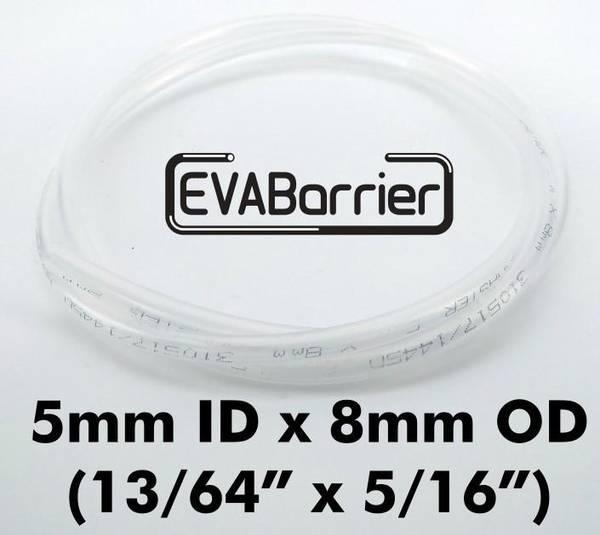 EVABarrier slange 5 mm ID x 8 mm OD