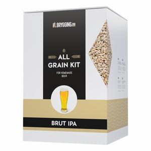 Bilde av Brut IPA allgrain ølsett