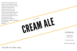 Bilde av Cream Ale