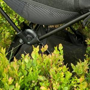 Bilde av Sammenleggbar turstol med truge