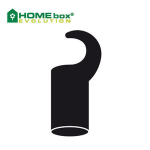 Bilde av HomeBox kort krok til 16mm stang