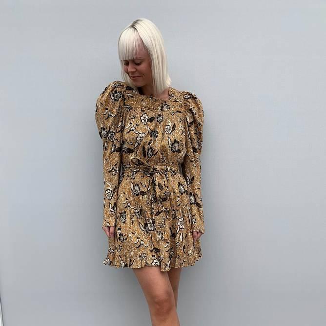 Bilde av Nailah Dress Amber - Ulla Johnson