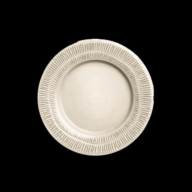 Bilde av Stripes Plate 28 Sand - Mateus