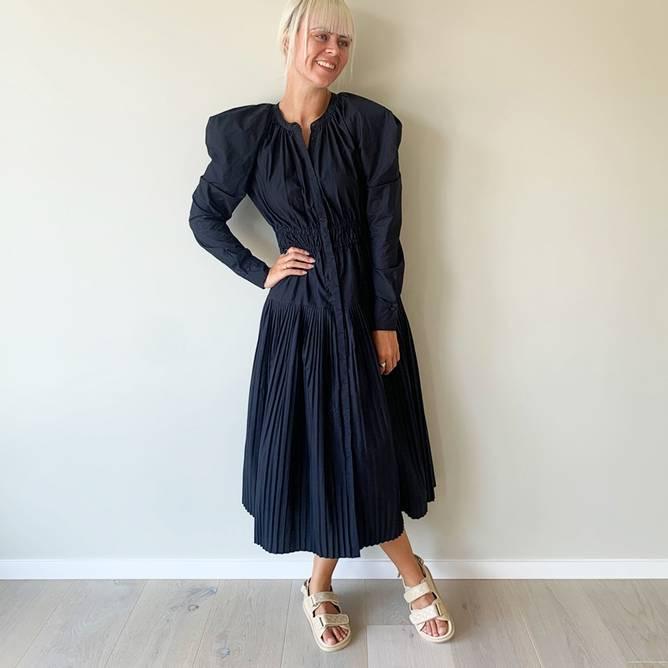 Bilde av Anoush Dress Raven - Ulla Johnson