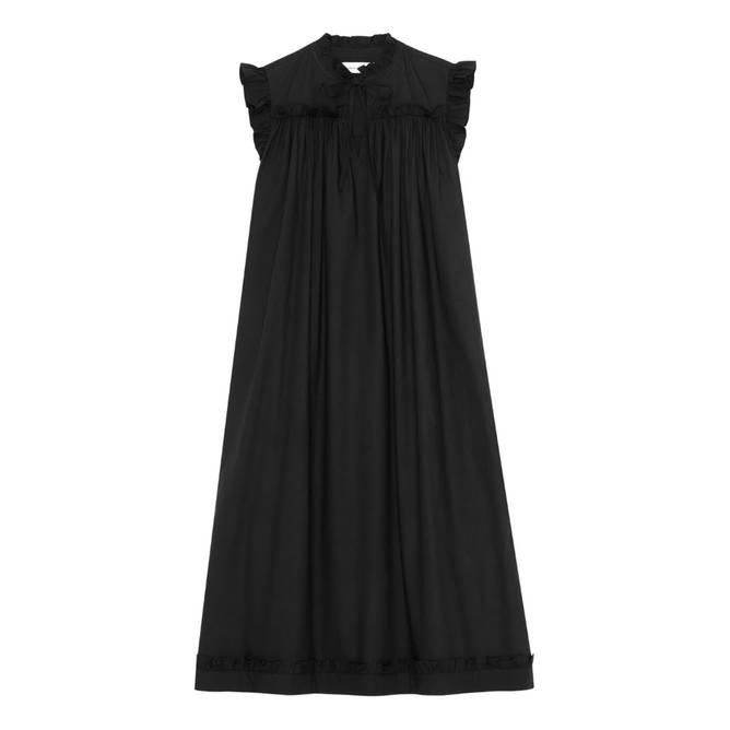 Bilde av Ancher Dress Black - Skall Studio