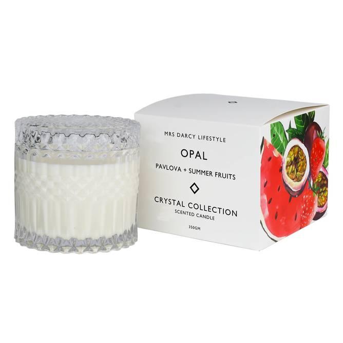 Bilde av Candle Opal - Pavlova And Summer Fruits - Mrs