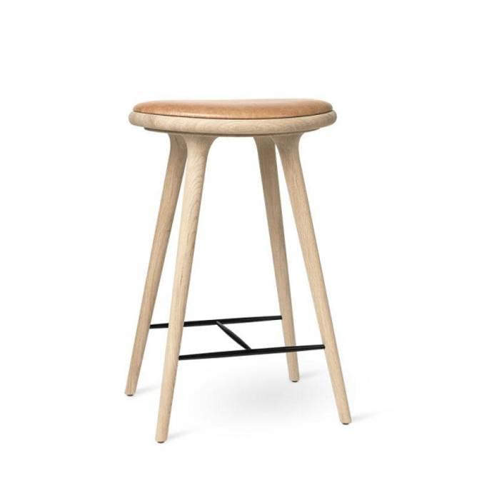 Bilde av High Stool Soaped Oak - Mater Design