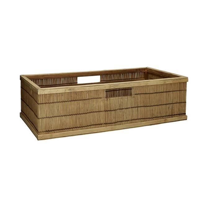 Bilde av Shadow Basket Bamboo/Wood L - Pomax