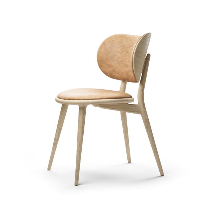 Bilde av The Dining Chair Mattlakkert Eik - Mater Design