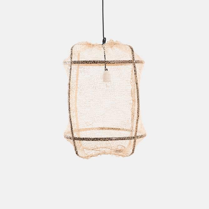 Bilde av Z5 Pendant Black Sisal Net Tea - Ay Illuminate