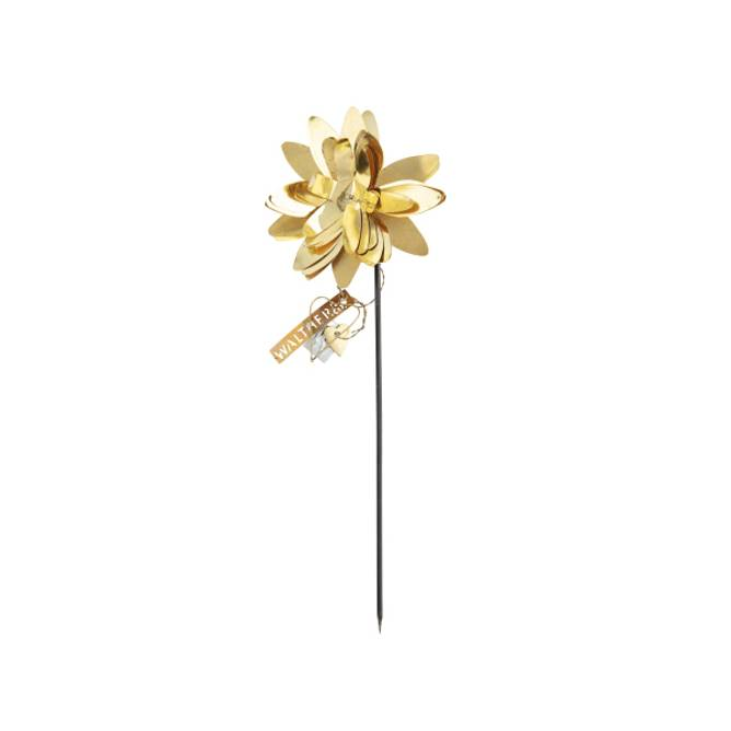 Bilde av Flower Pin Brass - Walther & Co
