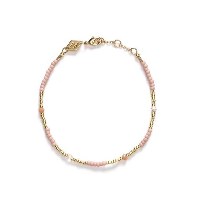 Bilde av Clemence Bracelet Pink Sand - Anni Lu