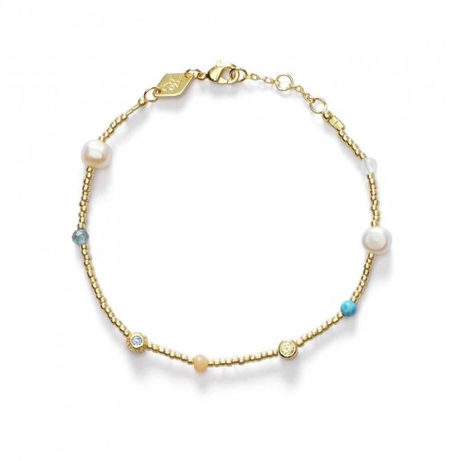 Bilde av Fruit d'Or Bracelet Pool Blue - Anni Lu