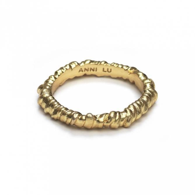 Bilde av Seaweed Ring Gold - Anni Lu