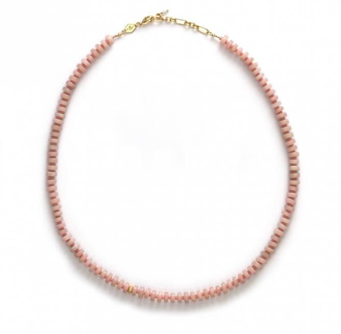 Bilde av The Big Pink Necklace Pink Opal - Anni Lu