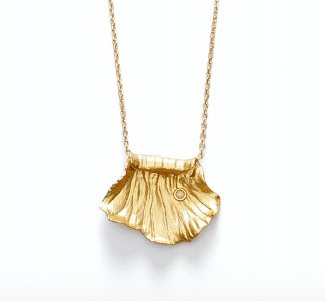 Bilde av The Surfrider Necklace Gold - Anni Lu