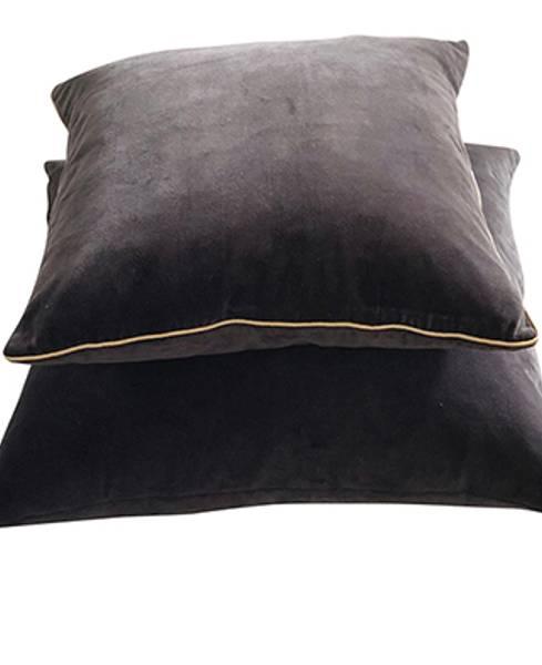 Pillowcase Velvet Glam Antrasithe
