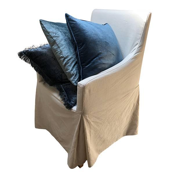 Pillowcase Velvet Glam Midnight Blue