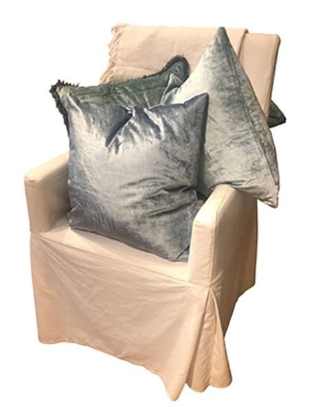 Cushion Cover Velvet Glam Jade Green