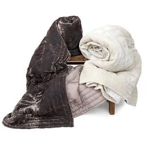 Image of Bedspread Silk Velvet