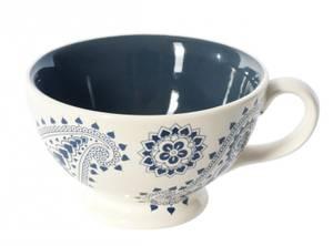Image of Mini Jumbo Paisly Blue