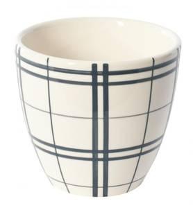 Image of XL Mug checkerboard blue