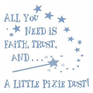 Image of Napkin All you need is faith,