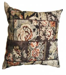 Image of Cushion Cover Vintage Print