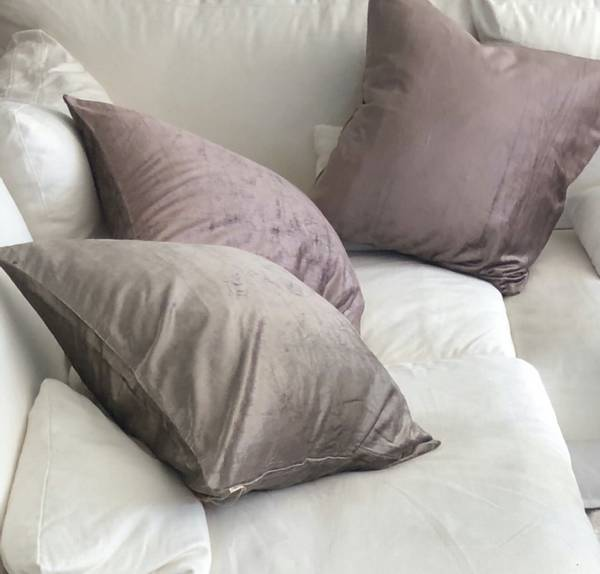 Cushion Cover Velvet Glam Plum