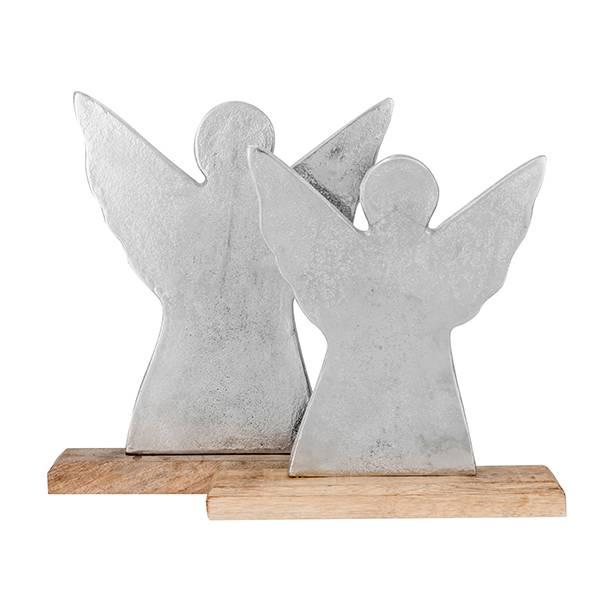 Sølv engel large
