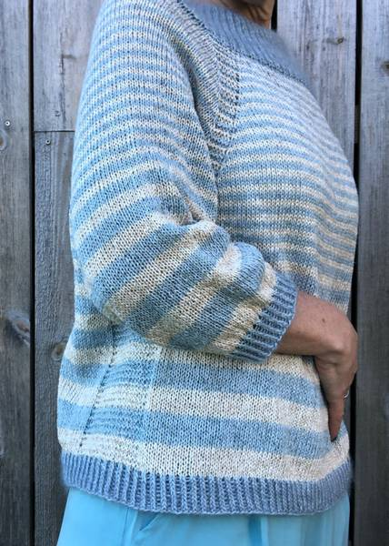 Stripet MåHa genser