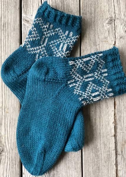 MorfarMønster sokker