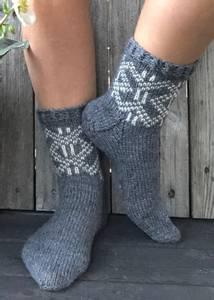 Image of MorfarMønster sokker
